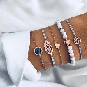 NEW 5pc Bracelet Set